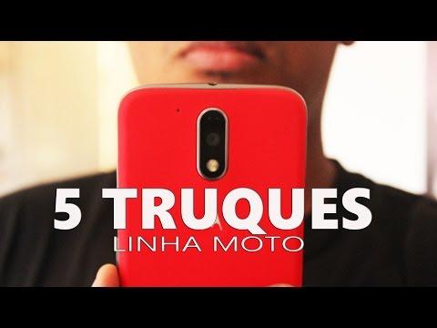 5 TRUQUES - Moto G4, Moto G5 PLUS, G4 PLUS, G4 PLAY E MOTO Z