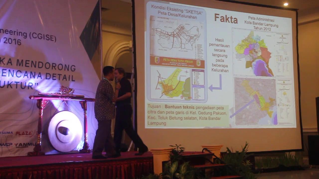 Yohanes, Realisasi One Map Policy Berbasis Peta Desa    || CGISE ke-3 &  FIT-ISI 2016