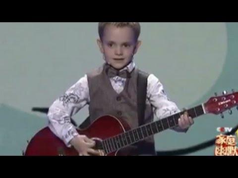 Шестилетний россиянин победил в китайском конкурсе талантов