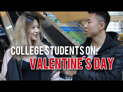 College Students On: Valentine's Day
