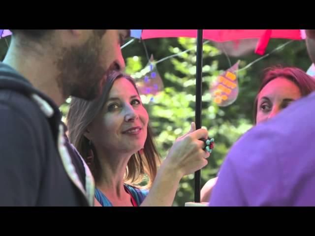 Le Parapluie Jukebox de Flo Zink