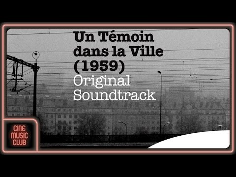 """Barney Wilen - Mélodie pour les radio-taxis (musique du film """"Un témoin dans la ville"""")"""