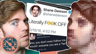 how NOT to take art criticism - painting a picture of shane dawson