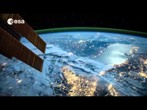 День Космонавтики: Космос вид на Землю ( Earth view from Space)