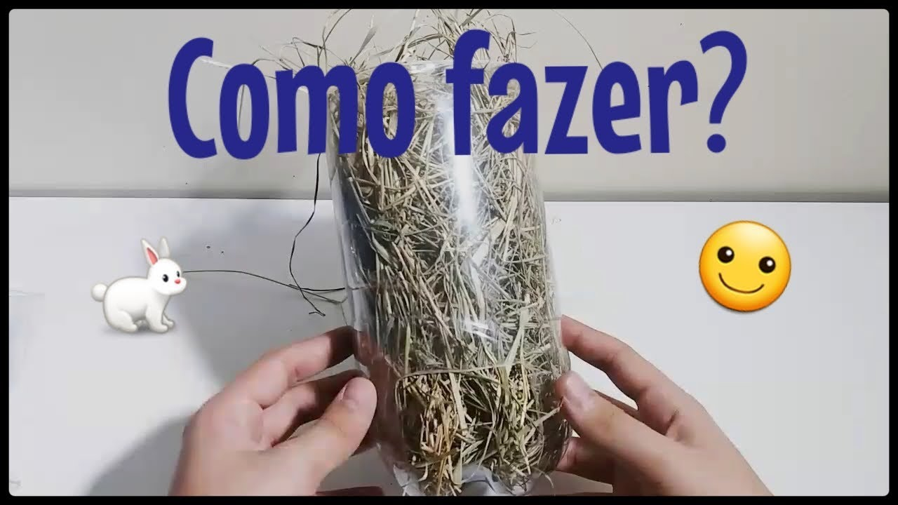Diy porta feno para porquinho da ndia ou coelho youtube for Porta da india