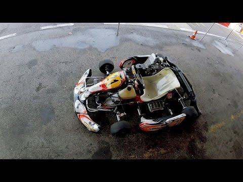 I miei migliori 5 giri con CRG 2T - pista Raceland - Altavilla Vicentina