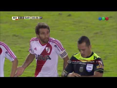 River Plate vs Sarmiento De Junin (1-1) Torneo Argentino 2016/17 - Resumen FULL HD