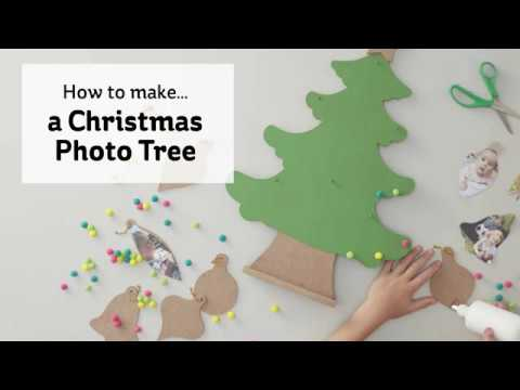How To Make a Christmas Photo Tree | Hobbycraft