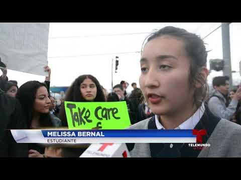 Protestan en la American Preparatory Academy