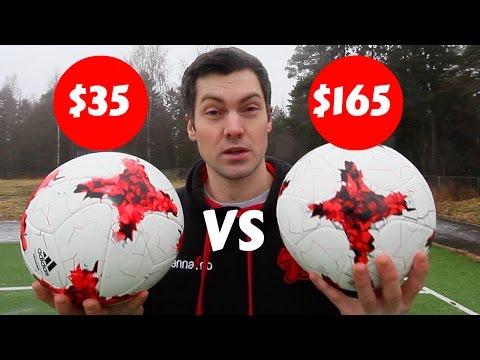 $35 Vs $165 FOOTBALL! IS IT WORTH THE MONEY??? - Adidas Krasava -  мяч красава - AZUN