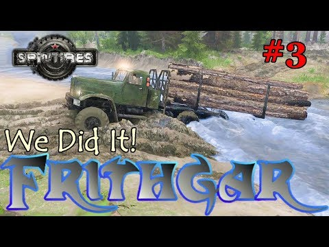 Let's Play Spintires #3: Our First Delivery!