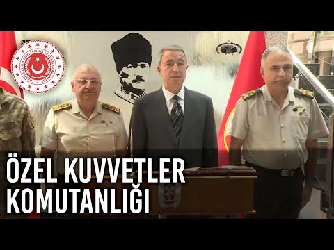 Bakan Akar ve Org. Güler'den Özel Kuvvetler Komutanlığına Ziyaret