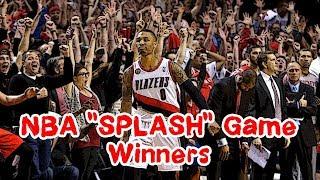 "NBA ""SPLASH"" Game Winners"