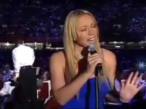Mariah Carey - US National Anthem (live)