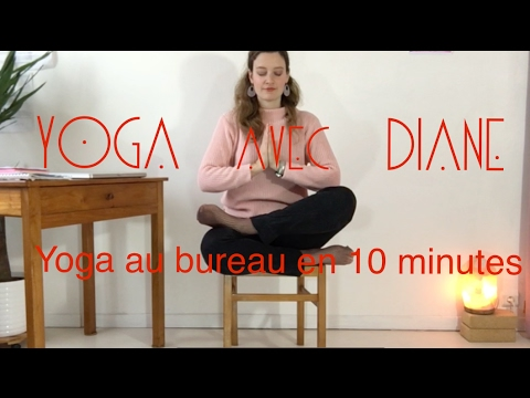 yoga au bureau en 10 minutes youtube. Black Bedroom Furniture Sets. Home Design Ideas