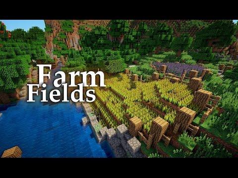 Minecraft: Medieval Farming Fields Tutorial