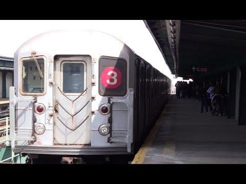 ᴴᴰ R62 3 Train Leaving Pennsylvania Avenue