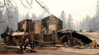 """Wie die Feuer in Kalifornien """"Paradise"""" zur Geisterstadt machten"""