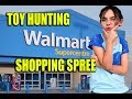 Toy Hunting Walmart Shopping Spree $50 Spend Challenge