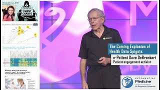 e-Patient Dave DeBronkart: The Coming Explosion of Health Data Spigots