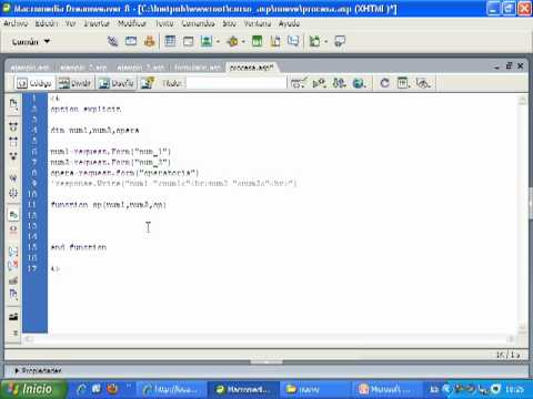 Videotutorial 9 ASP y SQL Server