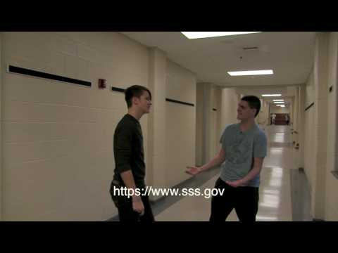 Selective Service Ad -  Morning Announcements