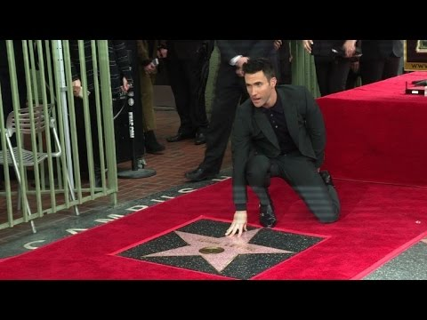 'Maroon 5's Adam Levine gets star on Hollywood Walk of Fame