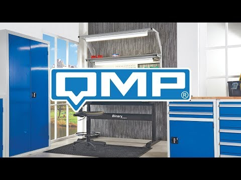 QMP's Binary Height Adjustable Workbenches