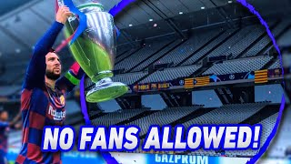 If Champions League Ended With No Fans In Stadium...