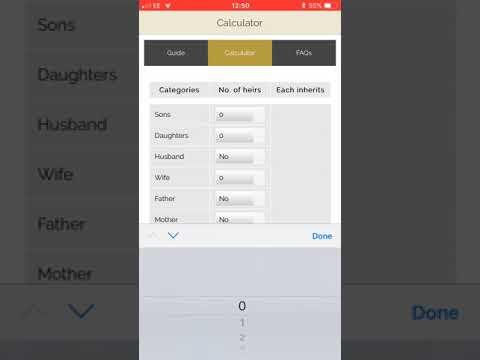 Islamic Inheritance App - I Will Solicitors