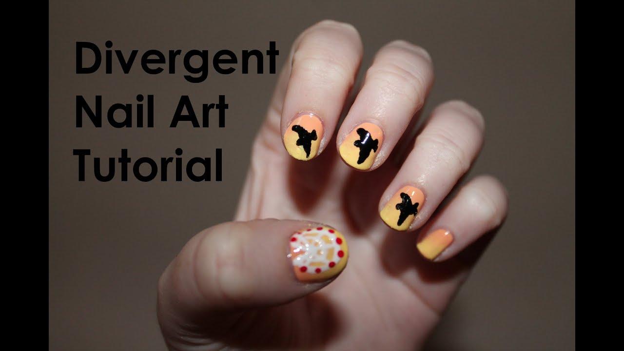 Divergent Nail Art Tutorial Youtube