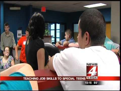 Job Adventures on WOAI Channel 4 News San Antonio with Delaine Mathieu