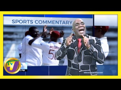 West Indies Win: TVJ Sports Commentary