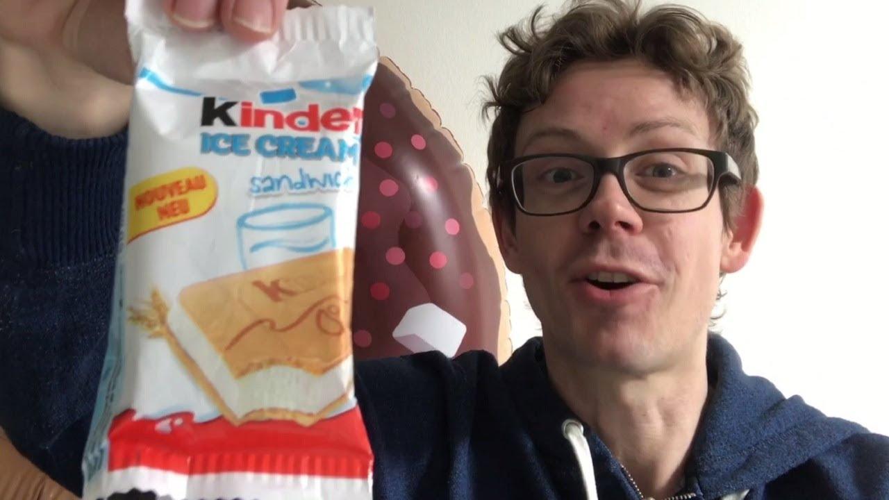 Kinder Ice Cream Sandwich Wie Das Eis Schmeckt Und Wo Du Es Kaufen
