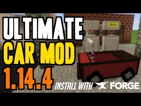 ULTIMATE CAR MOD 1.14.4 Minecraft - How To Download & Install Ultimate Car 1.14.4 (with Forge)