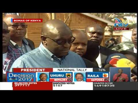 Thank you Raila Odinga for fighting for our democracy - Ekuru Aukot