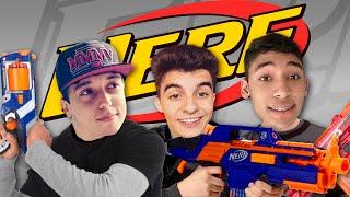 GUERRA DE NERF !!! - Vlog