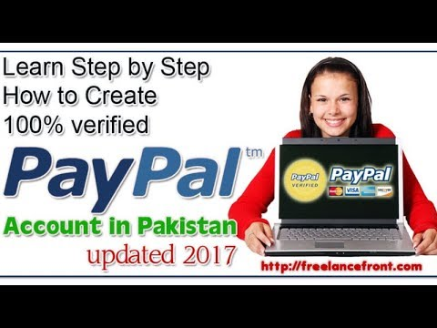 Create PayPal.com Account in Pakistan Free in Urdu and Hindi - BEST METHOD 2018 - Payment Proof