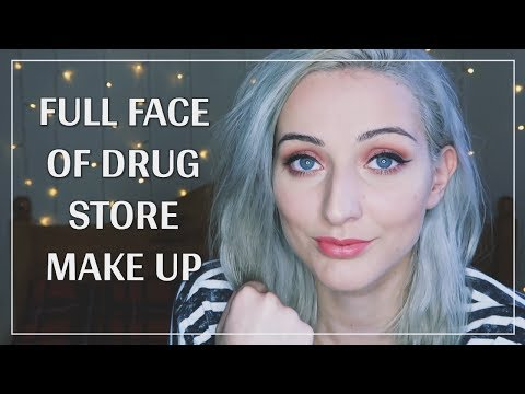 Full Face of High Street/Drug Store Make Up Tutorial | Julianna Green