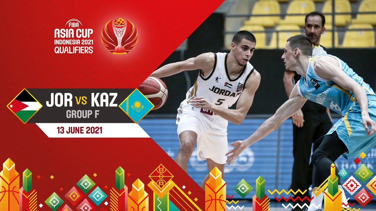Jordan v Kazakhstan | Full Game - Asia Cup 2021 Qualifiers