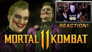 Mortal Kombat 11 - Joker FIRST LOOK Teaser REACTION! (NEW IN-GAME TEASER!)