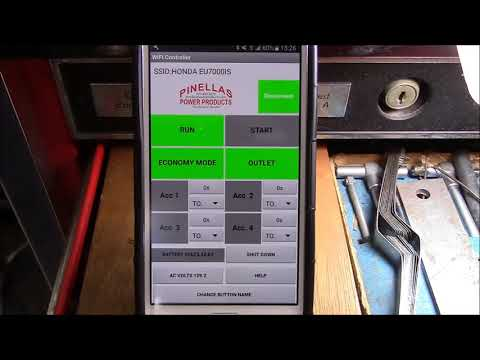 WIFI Remote Control For Honda EU7000iS by Pinellas Power Products.com