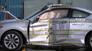 2013 Honda Accord Coupe | Documentation for Pole Crash Test | NHTSA | CrashNet1
