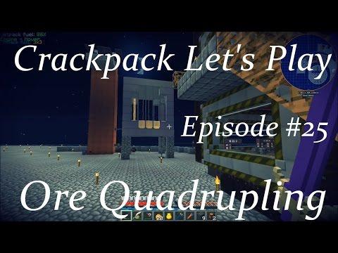 Minecraft Crackpack Lp Ep 25: Ore Quadrupling