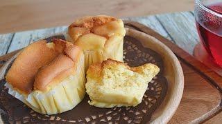 【Rich Soufflé Cheesecake】Recipe. The addition of custard cream pr...
