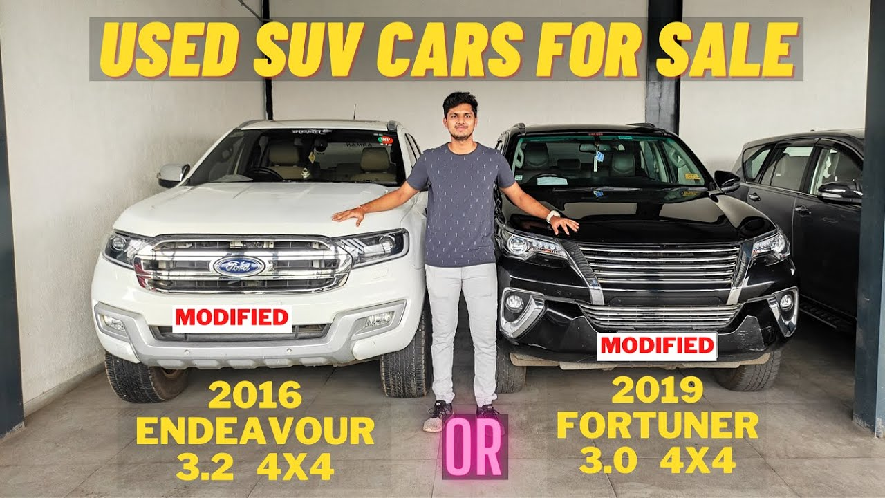 Used Endeavour 3.2 & Fortuner 3.0   Modified 4X4 SUV Cars