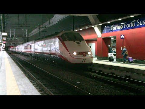 It 33 treni in transito alla stazione di torino porta - Treni torino porta susa ...