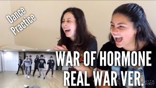 Video BTS 'War of Hormone Real WAR ver.' Reaction download MP3, 3GP, MP4, WEBM, AVI, FLV Mei 2018