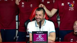 Rueda de prensa de Diego Martínez tras el RCD Mallorca vs Granada CF 1 1