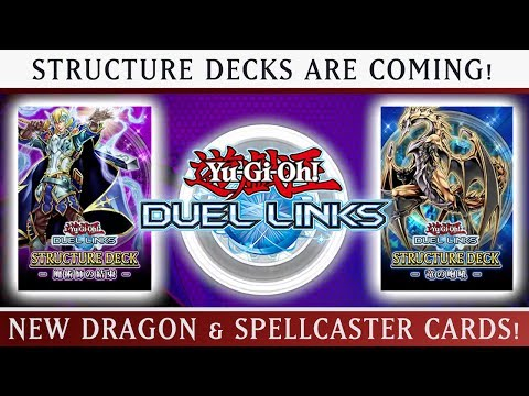 STRUCTURE DECKS COMING TO DUEL LINKS TOMORROW?! Yu-Gi-Oh Duel Links w/ItsBradazHD